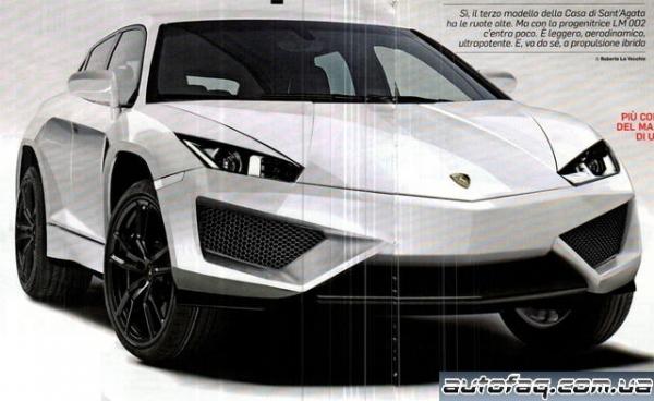 внедорожник Lamborghini
