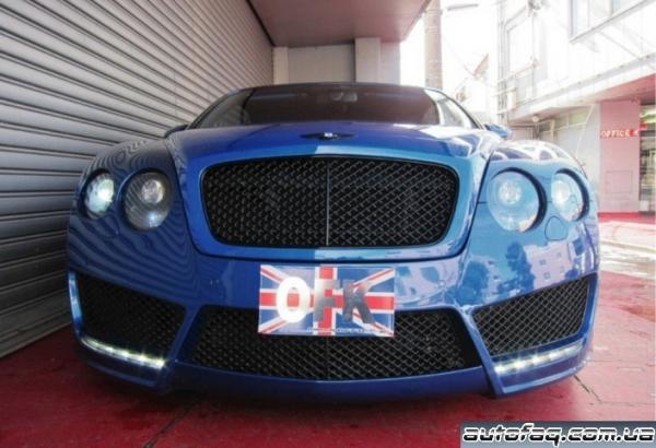 хромированный Bentley Continental GTS