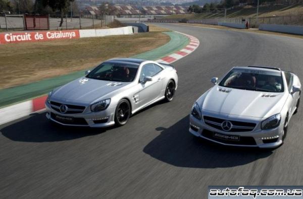 новый Mercedes-Benz SL63 AMG