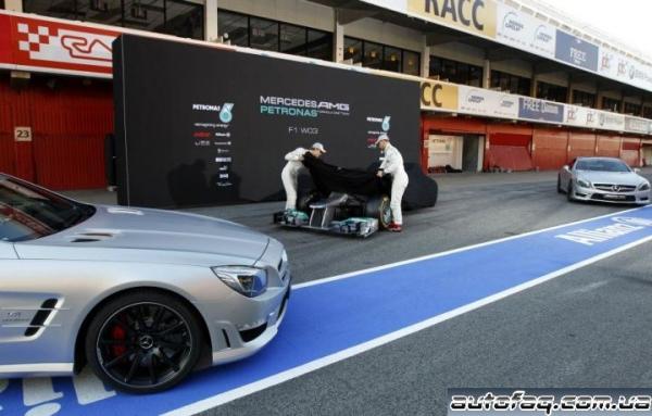 Mercedes F1 W03