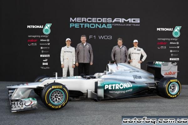 Mercedes GP F1 W03