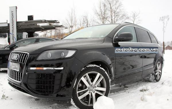 Audi Q7 шпионские фото