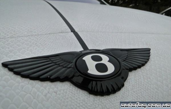 кожаная плёнка на Bentley
