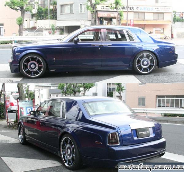 тюнинг Rolls-Royce Phantom
