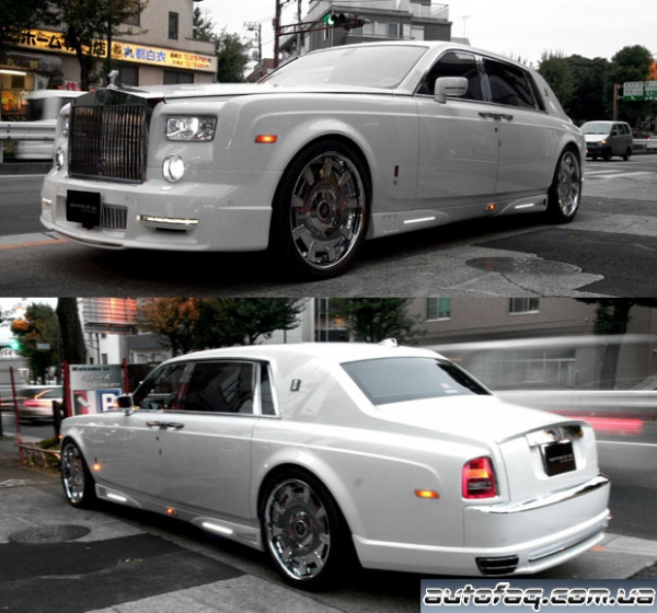 тюнинг Rolls-Royce Phantom