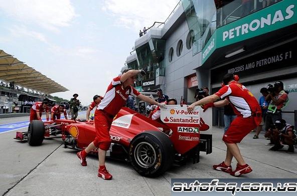гран-при Малайзии 2012 формула 1 квалификация