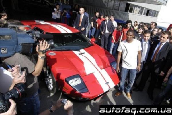 Ford GT Самуэля Это'о
