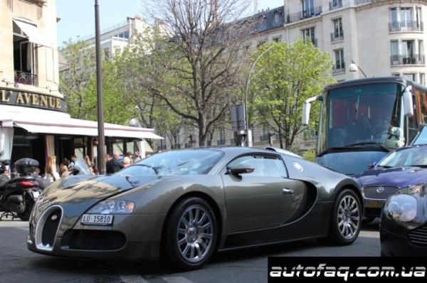 Bugatti Veyron Самуэля Это'о