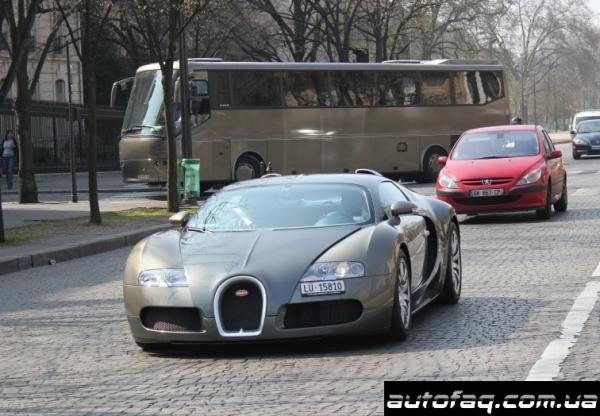 Bugatti Veyron Самуэль Это'о