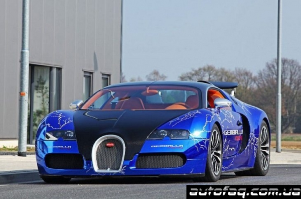 Bugatti Veyron Sang Gemballa Blue