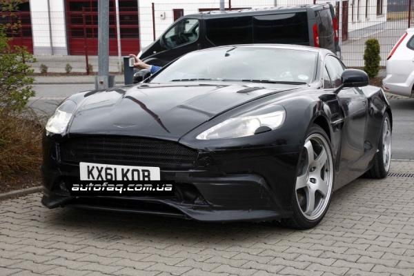 шпионские фото Aston Martin DB9