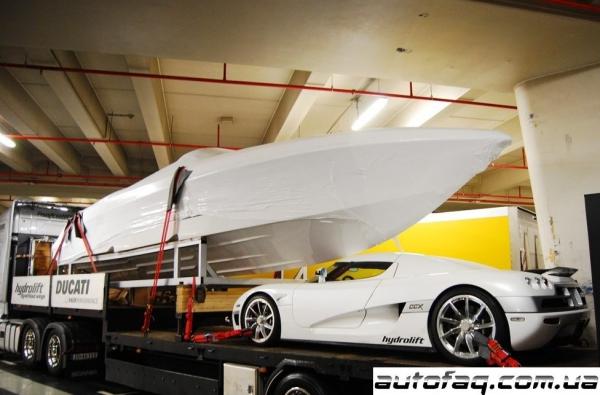 перевозка гиперкара Koenigsegg CCX