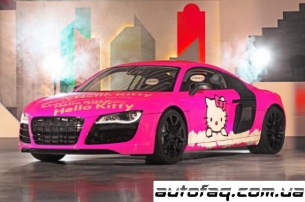 Audi R8 прикол
