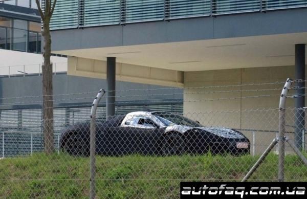 шпионские фото McLaren F1