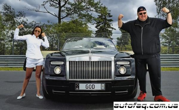 коллекция автомобилей Kim Dotcom