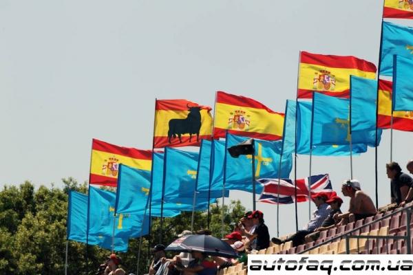 Формула 1 гран-при Испании 2012