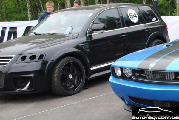 Volkswagen Touareg TDi W12 Moscow unlim 500+