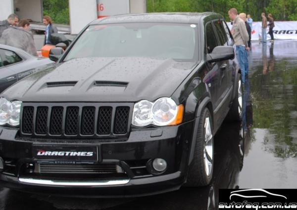 Jeep Grand Cherokee SRT-8 Moscow Unlim 500+