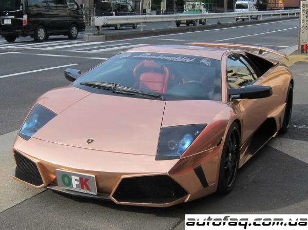Lamborghini Murcielago из розового золота