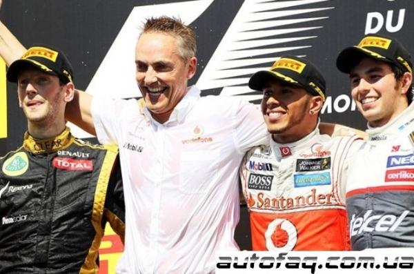 Формула 1 гран при Канады 2012