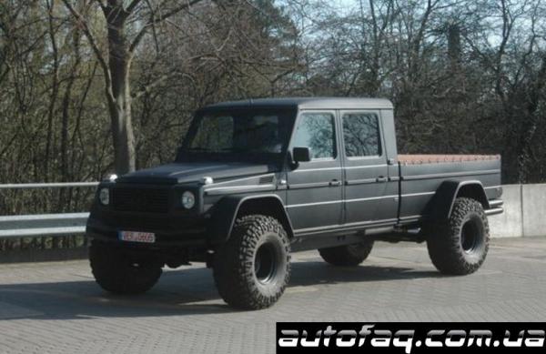 Монстр пикап Mercedes-Benz G500