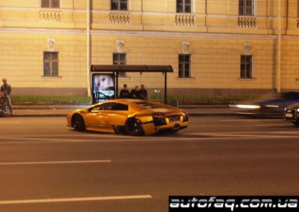 авария Lamborghini Санкт-Петербург