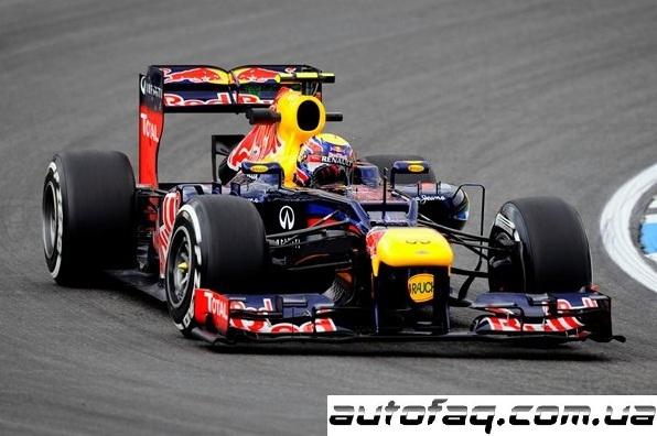 Формула 1 гран при Германии 2012
