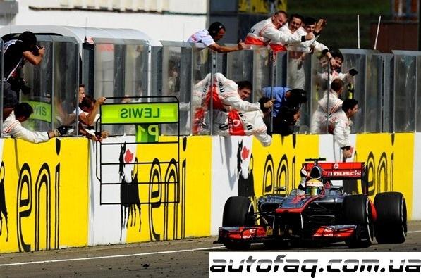 Формула 1 гран при Венгрии