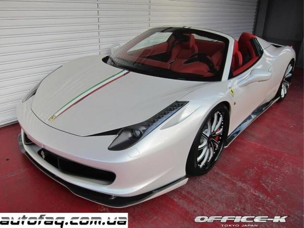 Autoveloce Ferrari 458 Spider