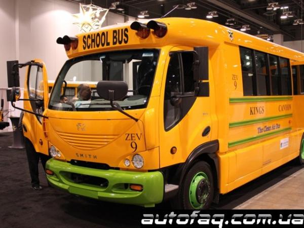 Trans Tech Bus гибридный автобус
