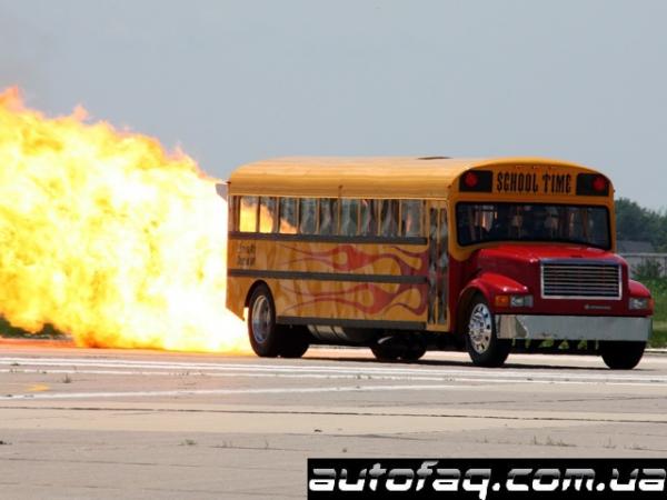 School Time Jet Bus