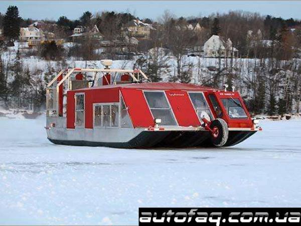 Windsled ледовый автобус