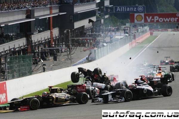 гран при Бельгии 2012 результаты гонки
