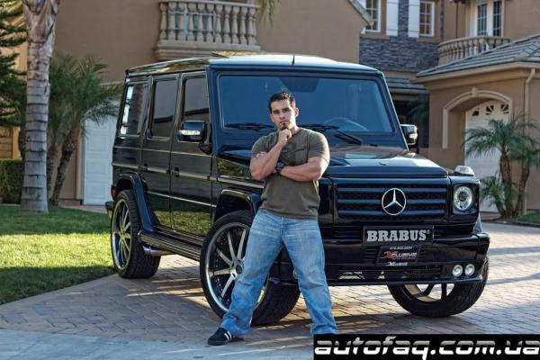 Гараж рэперов из Three 6 Mafia