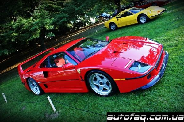 разбили Ferrari F40