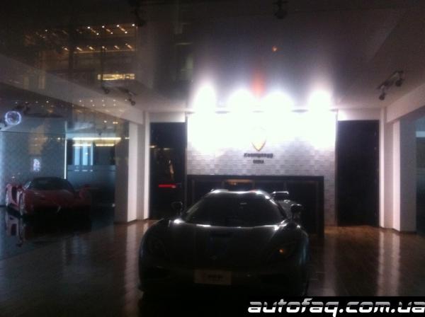 Ferrari Enzo в Китае