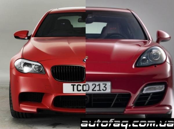 BMW M5 vs Porsche Panamera GTS
