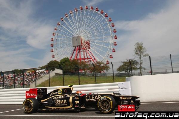 гран при Японии 2012 квалификация