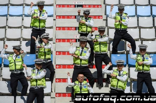Gangnam Style на гран при Кореи