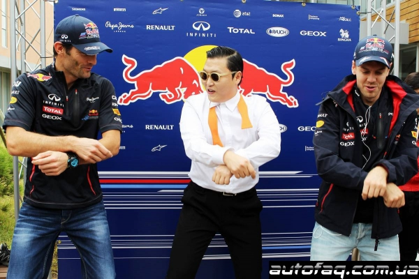 рэпер Psy на гран при Кореи Gangnam Style