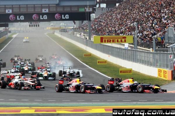 гран при Кореи 2012 результаты гонки