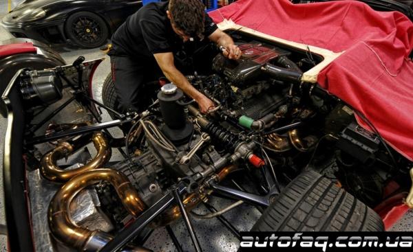 замена сцепления на Ferrari F50