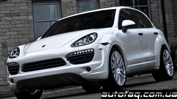 A. Kahn Design Porsche Cayenne   Supersport