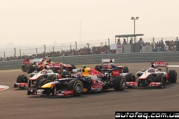 гран при Индии 2012 результаты гонки