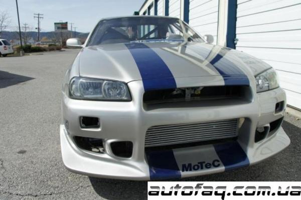 Nissan GT-R R34 форсаж 2