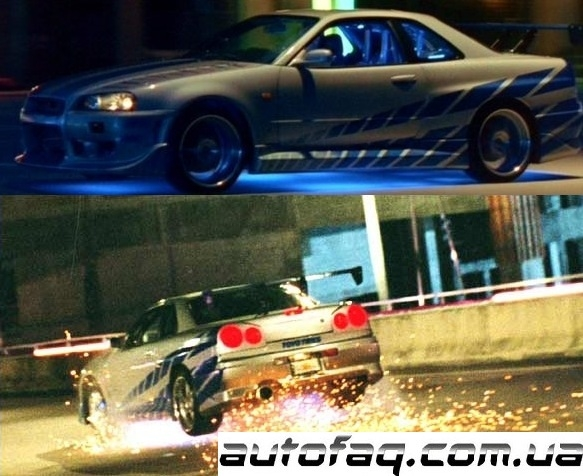 2 Fast 2 Furious GT-R