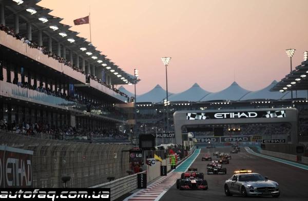 гран при Абу-Даби 2012 результаты гонки