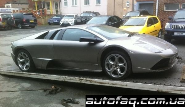 разбили Lamborghini Murcielago