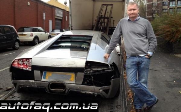 авария Lamborghini Murcielago