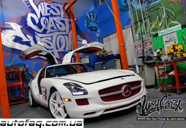 Mercedes-Benz SLS AMG рэпера Tyga